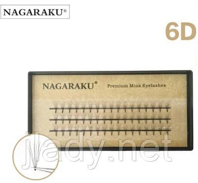 Ресницы Nagaraku 6d
