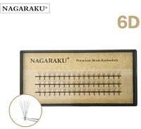Ресницы Nagaraku 6d  , фото 1