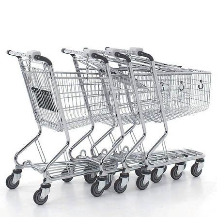 Тележка покупательская б\у WANZL City Shopper 2 (Германия), торговая тележка бу, фото 2