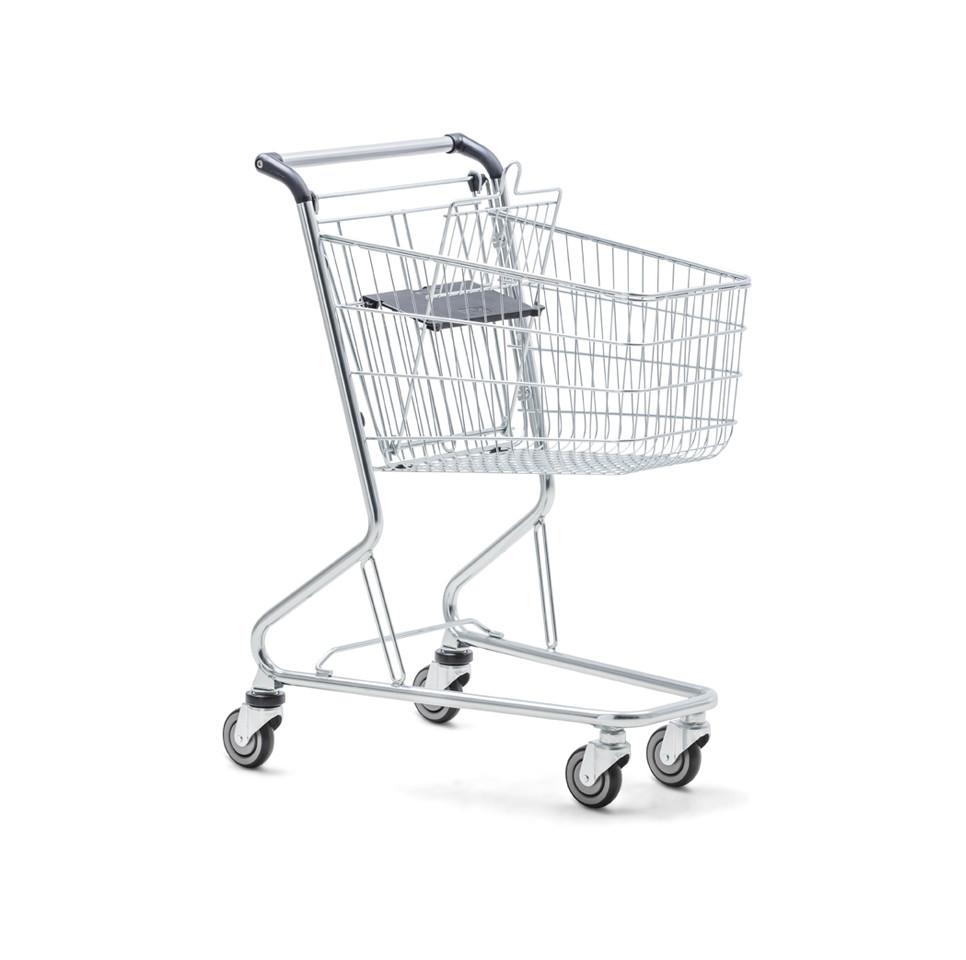 Тележка покупательская б\у WANZL City Shopper 2 (Германия), торговая тележка бу