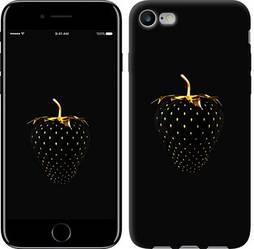 """Чехол на iPhone 8 Черная клубника """"3585c-1031-15886"""""""