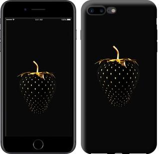 """Чехол на iPhone 8 Plus Черная клубника """"3585c-1032-15886"""""""