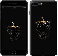 """Чехол на iPhone 7 Plus Черная клубника """"3585c-337-15886"""""""