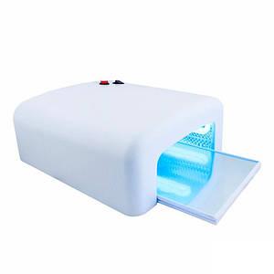 УФ лампа для ногтей Global Fashion 818 матовая 36 Вт, 4 лампы, выдвижное зеркало