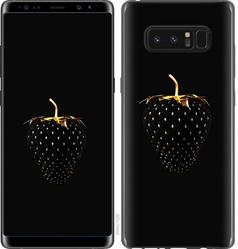 "Чехол на Samsung Galaxy Note 8 Черная клубника ""3585c-1020-15886"""