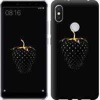 "Чехол на Xiaomi Redmi S2 Черная клубника ""3585u-1494-15886"""
