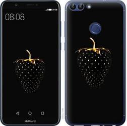 """Чехол на Huawei P Smart Черная клубника """"3585c-1346-15886"""""""