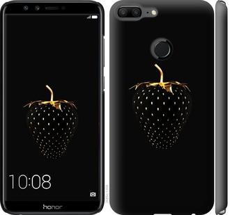 """Чехол на Huawei Honor 9 Lite Черная клубника """"3585c-1359-15886"""""""