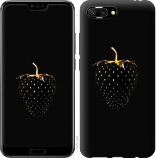 """Чехол на Huawei Honor 10 Черная клубника """"3585u-1496-15886"""""""