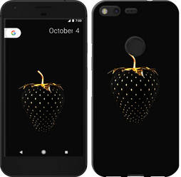 "Чехол на Google Pixel Черная клубника ""3585c-400-15886"""