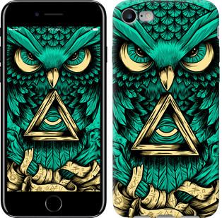 "Чехол на iPhone 8 Сова Арт-тату ""3971c-1031-15886"""