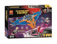 Конструктор Bela 10748 Супергерои Милано против Абелиска (аналог Lego Super Heroes 76081)