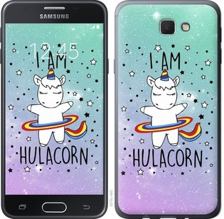"Чехол на Samsung Galaxy J5 Prime I'm hulacorn ""3976u-465-15886"""