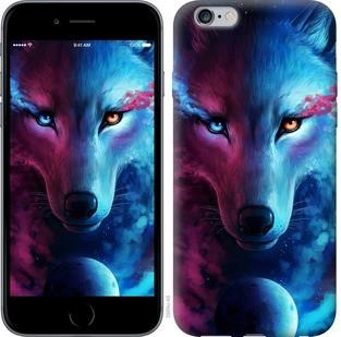 "Чехол на iPhone 6 Plus Арт-волк ""3999c-48-15886"""