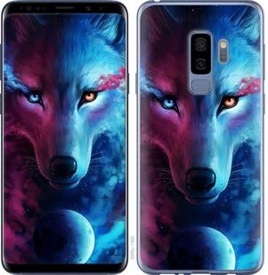 "Чехол на Samsung Galaxy S9 Plus Арт-волк ""3999c-1365-15886"""
