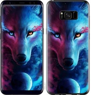 "Чехол на Samsung Galaxy S8 Plus Арт-волк ""3999c-817-15886"""
