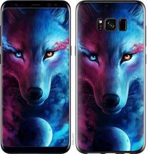 "Чехол на Samsung Galaxy S8 Арт-волк ""3999c-829-15886"""