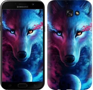 "Чехол на Samsung Galaxy A7 (2017) Арт-волк ""3999c-445-15886"""