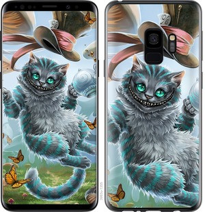 "Чехол на Samsung Galaxy S9 Чеширский кот ""3993c-1355-15886"""