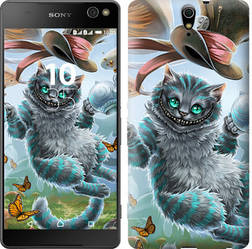"""Чехол на Sony Xperia C5 Ultra Dual E5533 Чеширский кот """"3993c-506-15886"""""""