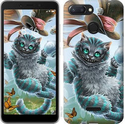 "Чехол на Xiaomi Redmi 6 Чеширский кот ""3993u-1521-15886"""