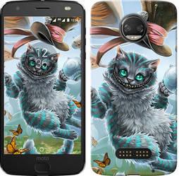 """Чехол на Motorola MOTO Z Чеширский кот """"3993c-419-15886"""""""