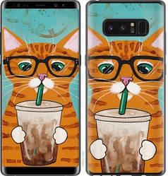 """Чехол на Samsung Galaxy Note 8 Зеленоглазый кот в очках """"4054c-1020-15886"""""""