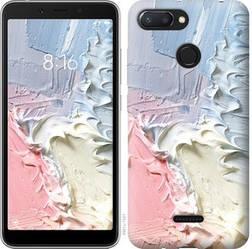 """Чехол на Xiaomi Redmi 6 Пастель """"3981u-1521-15886"""""""