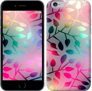 "Чехол на iPhone 6s Листья ""2235c-90-15886"""