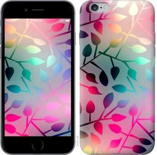 "Чехол на iPhone 6 Plus Листья ""2235c-48-15886"""
