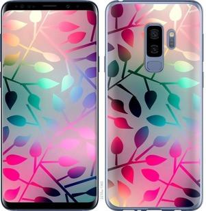 "Чехол на Samsung Galaxy S9 Plus Листья ""2235c-1365-15886"""