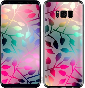 "Чохол на Samsung Galaxy S8 Листя ""2235c-829-15886"""