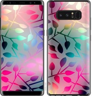 "Чехол на Samsung Galaxy Note 8 Листья ""2235c-1020-15886"""