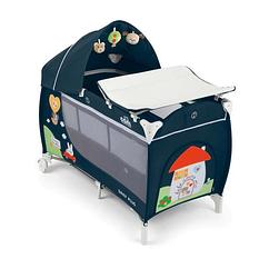Манеж-кровать Cam Daily Plus Синий (451378670)