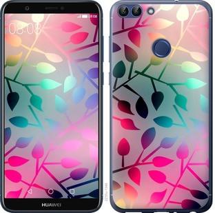 """Чохол на Huawei P Smart Листя """"2235c-1346-15886"""""""