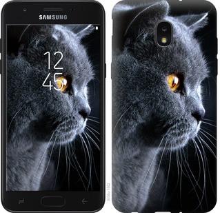 """Чохол на Samsung Galaxy J7 2018 Красивий кіт """"3038u-1502-15886"""""""