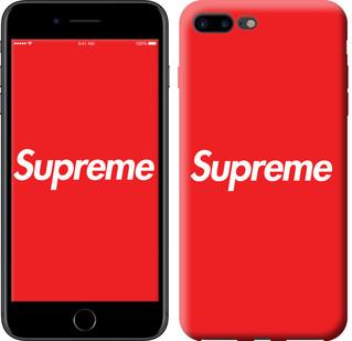 "Чехол на iPhone 8 Plus supreme ""3987c-1032-15886"""
