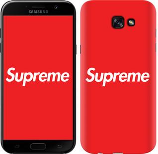 "Чехол на Samsung Galaxy A7 (2017) supreme ""3987c-445-15886"""