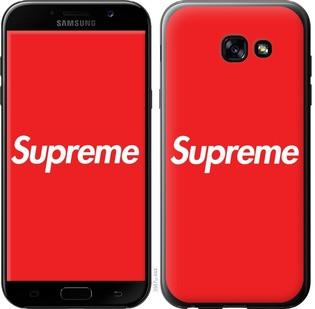 "Чехол на Samsung Galaxy A5 (2017) supreme ""3987c-444-15886"""