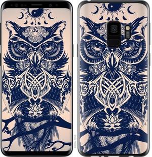 "Чехол на Samsung Galaxy S9 Узорчатая сова ""4000c-1355-15886"""