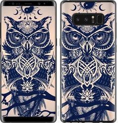 "Чехол на Samsung Galaxy Note 8 Узорчатая сова ""4000c-1020-15886"""