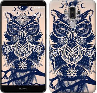 "Чехол на Huawei Mate 9 Узорчатая сова ""4000u-425-15886"""