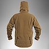 Демисезонная флисовая куртка Helikon-Tex® Patriot (coyote), фото 5