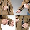 Демисезонная флисовая куртка Helikon-Tex® Patriot (coyote), фото 10