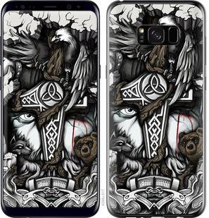 """Чехол на Samsung Galaxy S8 Plus Тату Викинг """"4098c-817-15886"""""""