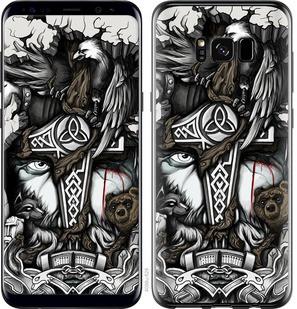 "Чехол на Samsung Galaxy S8 Тату Викинг ""4098c-829-15886"""