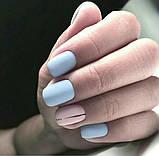 Гель-лак Oxxi professional (10 мл) №026 (нежно-голубой, эмаль), фото 3