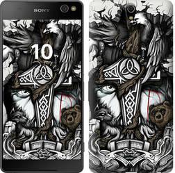 """Чехол на Sony Xperia C5 Ultra Dual E5533 Тату Викинг """"4098c-506-15886"""""""
