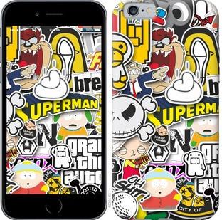 "Чехол на iPhone 6s Popular logos ""4023c-90-15886"""