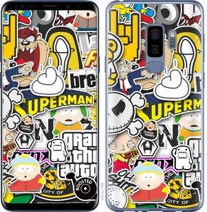 "Чехол на Samsung Galaxy S9 Plus Popular logos ""4023c-1365-15886"""